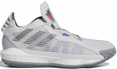Adidas Dame 6 - Grey One F17/Grey Three F17/Bright Cyan (FX2085)