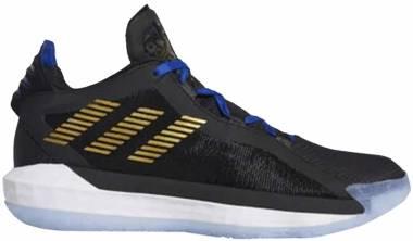 Adidas Dame 6 - Noir Or Mãtallisã Bleu Roi (FU9447)