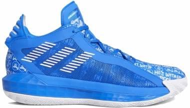 Adidas Dame 6 - Glory Azul Blanco