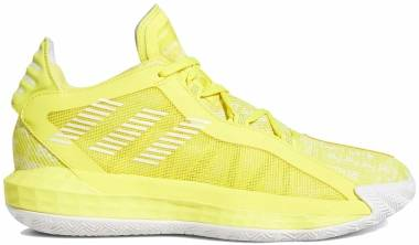 Adidas Dame 6 - Shock Yellow / Cloud White / Shock Yellow