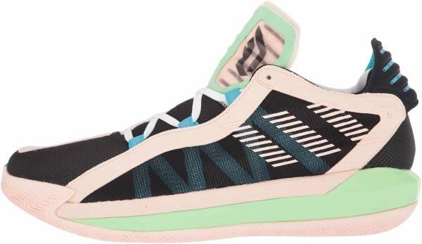 Adidas Dame 6 - noir/blanc/rose flash (FY0875)