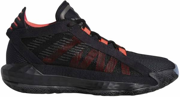 Adidas Dame 6 - Core Black Trace Gray Met F17 Shock Red (EH2791)