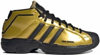Adidas Pro Model 2G - Gold Metallic/Black/Gold Metallic