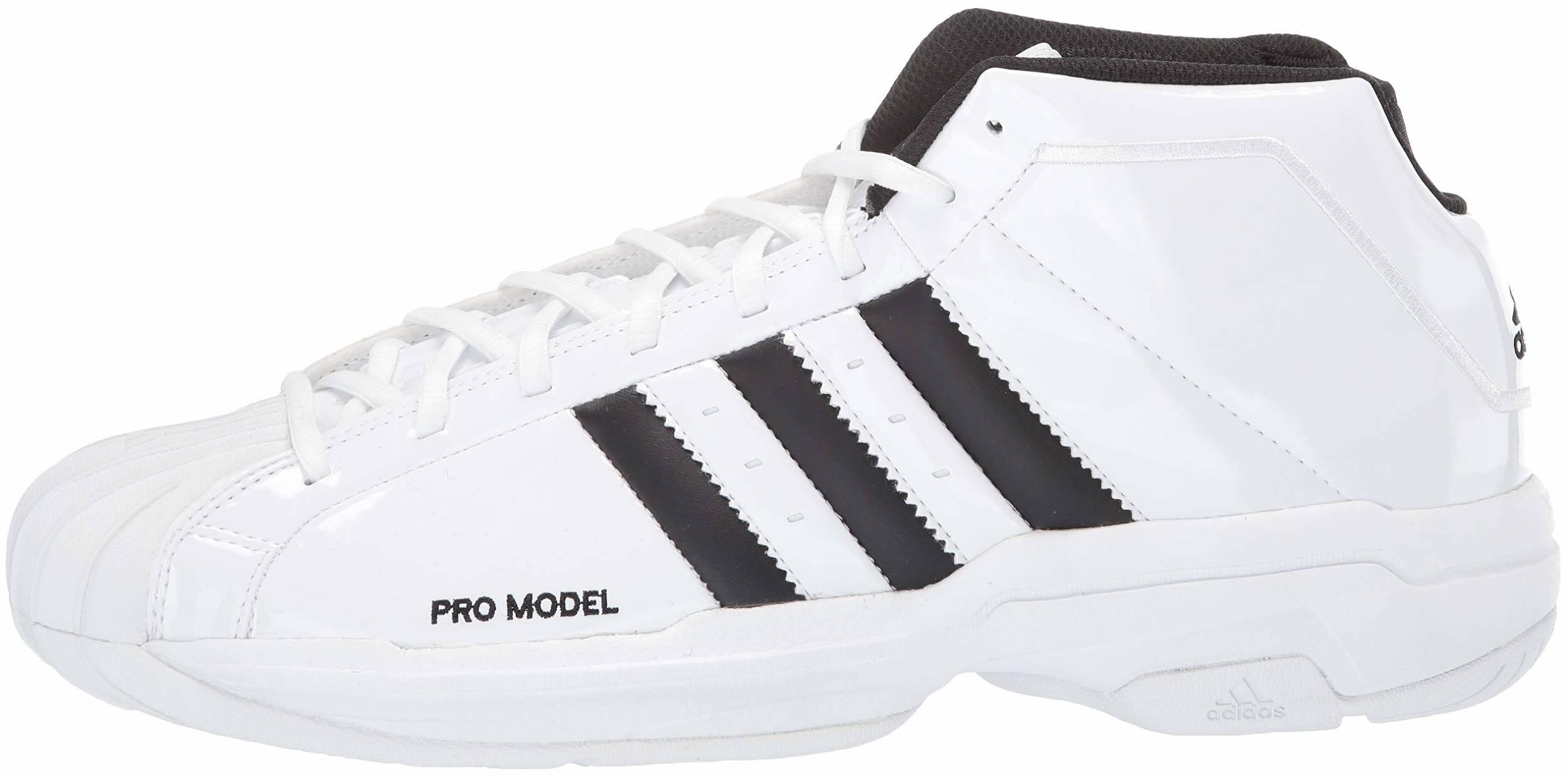40 White Adidas basketball shoes - Save 50% | RunRepeat