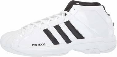 Adidas Pro Model 2G - White/Black/White (FW4344)