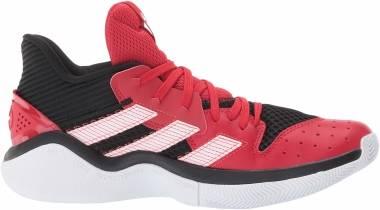 Adidas Harden Stepback - Core Black Scarlet Ftwr White