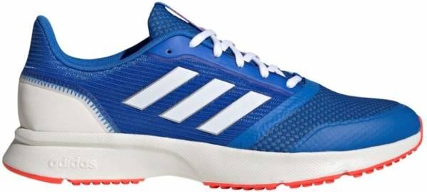 Adidas Nova Flow - Glory Blue / Footwear White / Solar Red (EH1370)