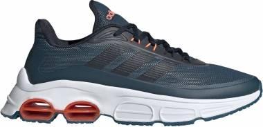 Adidas Quadcube - Blue Tech Mineral Legend Ink Signal Coral (EG4392)