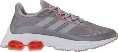 Adidas Quadcube - Gray Light Granite Light Granite Signal Coral (EG4391)