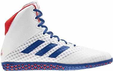 Adidas Mat Wizard 4 - White/Royal/Red (BC0533)
