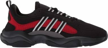 Adidas Haiwee - Core Black/Silver Met./Scarlet (FV4595)