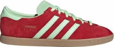 Adidas Stadt - Scarlet Glow Green Gold Metallic