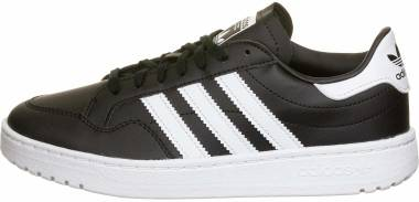 Adidas Team Court - Noir Blanc Noir