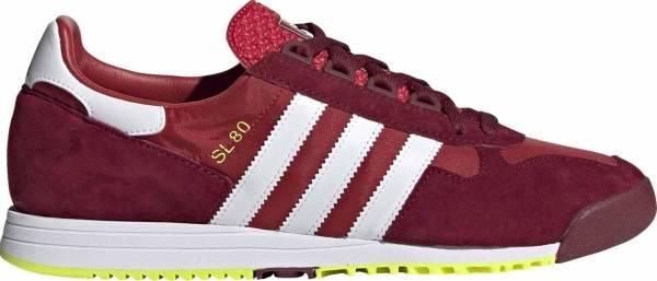 Adidas SL 80 - Scarlet Footwear White Collegiate Burgundy