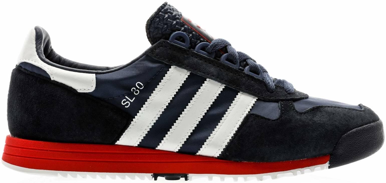 Adidas SL 80 sneakers in red   RunRepeat
