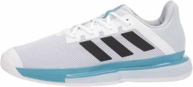 Adidas SoleMatch Bounce - Ftwbla Negbás Azuhal (FX1732)