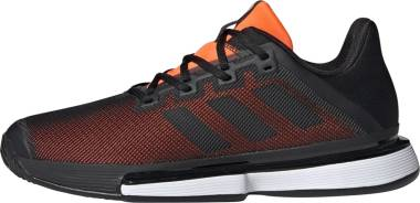 Adidas SoleMatch Bounce - Black/Black/Solar Orange (G26605)