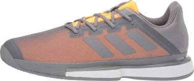 Adidas SoleMatch Bounce - Grey Three/Grey Three/Flash Orange (EF0572)