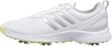 Adidas Response Bounce - Ftwr White Silver Met Semi Frozen Yellow Fabric (F33664)