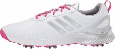 Adidas Response Bounce - White/Magenta/Silvermet