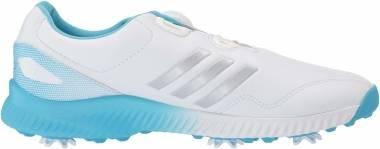 Adidas Response Bounce BOA - Ftwr White Silver Metallic Bright Cyan