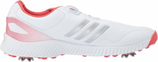 Adidas Response Bounce BOA - Ftwr White Silver Metallic Real Coral (F33669)