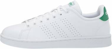 Adidas Advantage - Footwear White Footwear White Green (F36424)