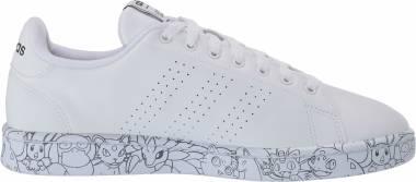 Adidas Advantage - White/White/Black (EH1110)