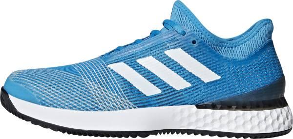 Adidas Adizero Ubersonic 3.0 Clay - Bleu Cyan Blanc Noir