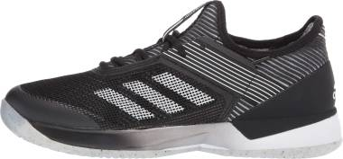 Adidas Adizero Ubersonic 3.0 Clay - Core Black Ftwr White Core Black