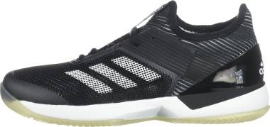 Adidas Adizero Ubersonic 3.0 Clay - Core Black White Core Black