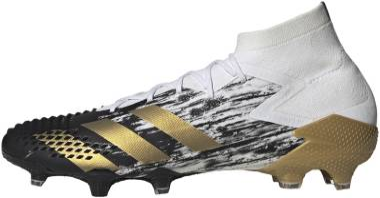 Adidas Predator Mutator 20.1 Firm Ground - Black;White (FW9186)