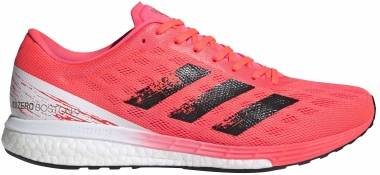 Adidas Adizero Boston 9 - Signal Pink / Core Black / Copper Metalic (EG4671)