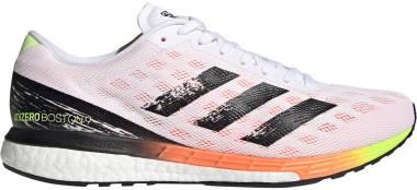 Adidas Adizero Boston 9 - Ftwr White / Core Black / Screaming Orange (H68741)