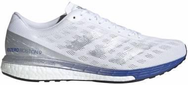 Adidas Adizero Boston 9 - ftwr white/silver me (EG4672)