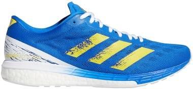 Adidas Adizero Boston 9 - Blue/Yellow/White (GZ2949)