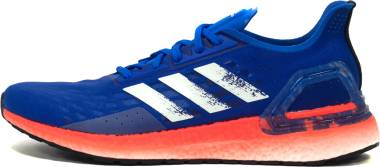 Adidas Ultraboost PB - Glory Blue / Core White / Solar Red (EF0893)
