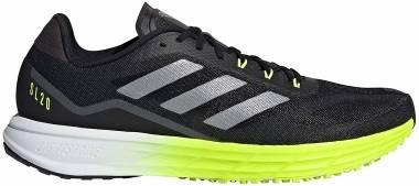 Adidas SL20 - Black/Black/Solar Yellow (FW9156)