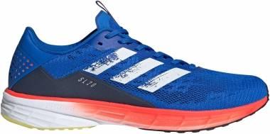 Adidas SL20 - Glory Blue/Core White/Solar Red (FU6621)