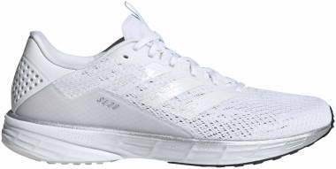 Adidas SL20 - Blanc Blanc Bleu Ciel (FU6619)