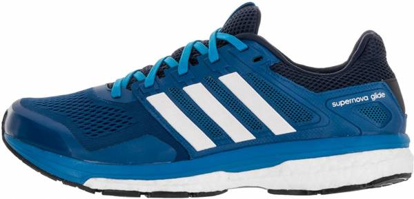 the latest 43faf 7afff Adidas Supernova Glide Boost 8 Blu (Blau (Eqt Blue S16Ftwr White
