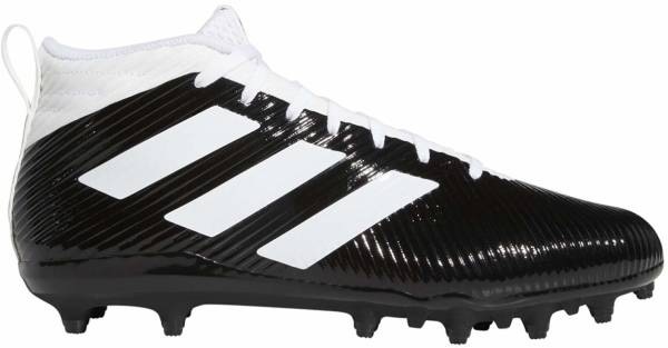 Adidas Freak Ghost Cleats - Core Black Cloud White Clear Grey