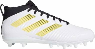 Adidas Freak Ghost Cleats - White-metallic Gold-black (G54758)