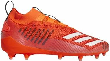 Adidas Adizero 8.0 Primeknit Cleats - Solar Red/Cloud White/Core Black (D97021)