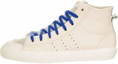 Adidas Pharrell Williams Nizza Hi RF - Ecru Tint / Cream White-clear Brown