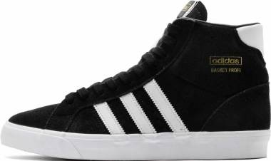 Adidas Basket Profi - Core Black / Footwear White / Gold Metal (FW3100)