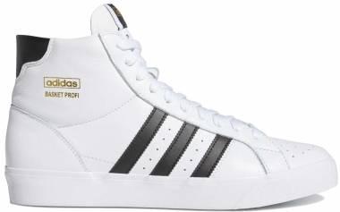 Adidas Basket Profi - Ftwr White / Core Black / Gold Met. (FW3108)