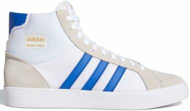 Adidas Basket Profi - White/Royal Blue/Gold Metallic (FW3112)