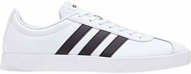 Adidas VL Court 2.0 - White Ftwr White Core Black Core Black Ftwr White Core Black Core Black (DA9868)