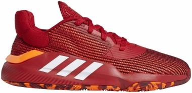 Adidas Pro Bounce 2019 Low - Red | White | Orange (EF0471)